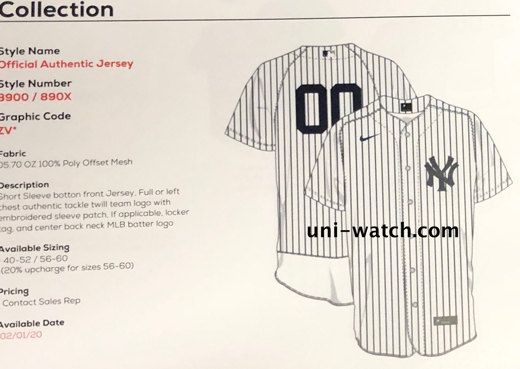 another chance cf35e 36a02 EXCLUSIVE: First Look at Nike's 2020 MLB Jerseys | Uni Watch