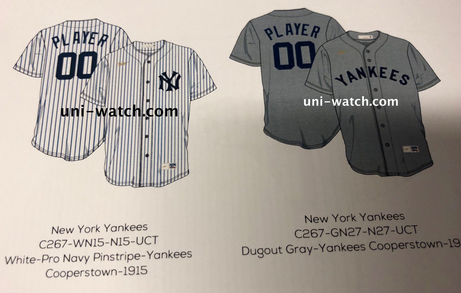 1a66e156 It's hard to see, especially on the grey mock-up on the right, but both of  those jerseys have a gold splotch or squiggle instead of the Nike logo.