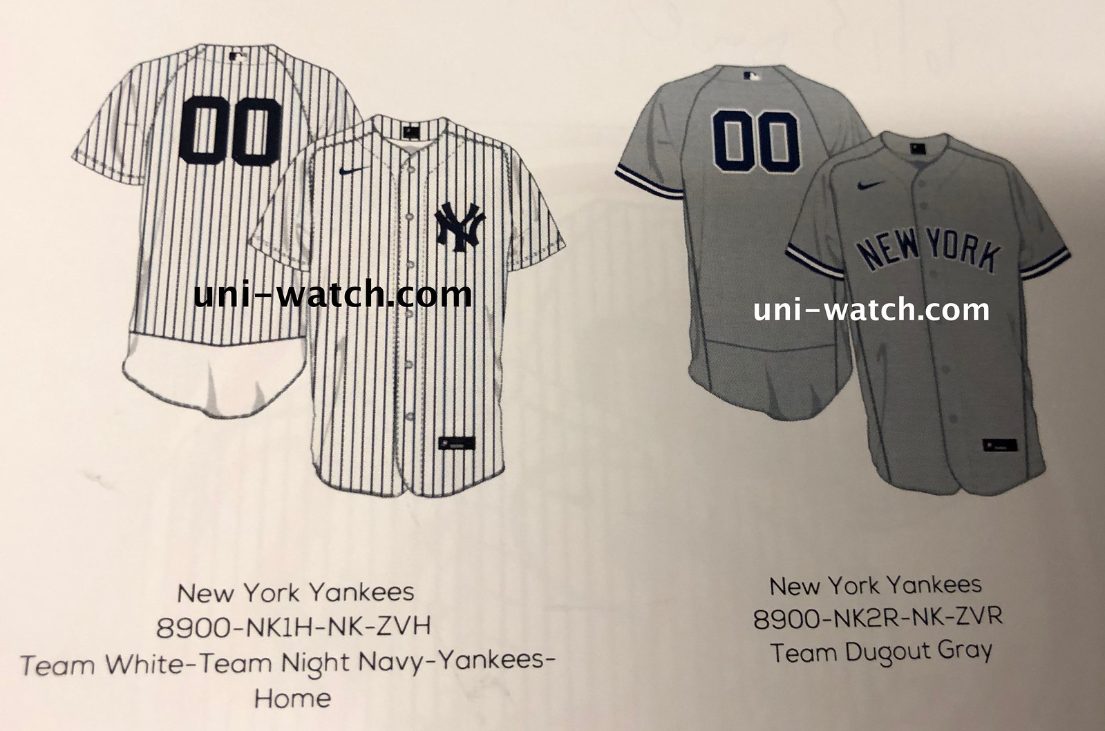 another chance 05c3a ea644 EXCLUSIVE: First Look at Nike's 2020 MLB Jerseys | Uni Watch
