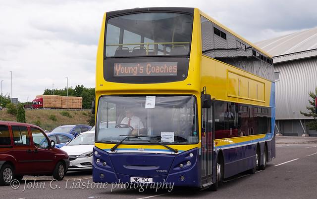 Young Coaches of Cambridge Alexander Dennis Enviro B15 YCC ex-Dublin Bus