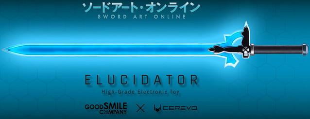 快!還要更快!CEREVO x GOOD SMILE COMPANY《刀劍神域》High-Grade Electronic Toy 闡釋者(エリュシデータ;Elucidator) 1/1比例電驅動玩具