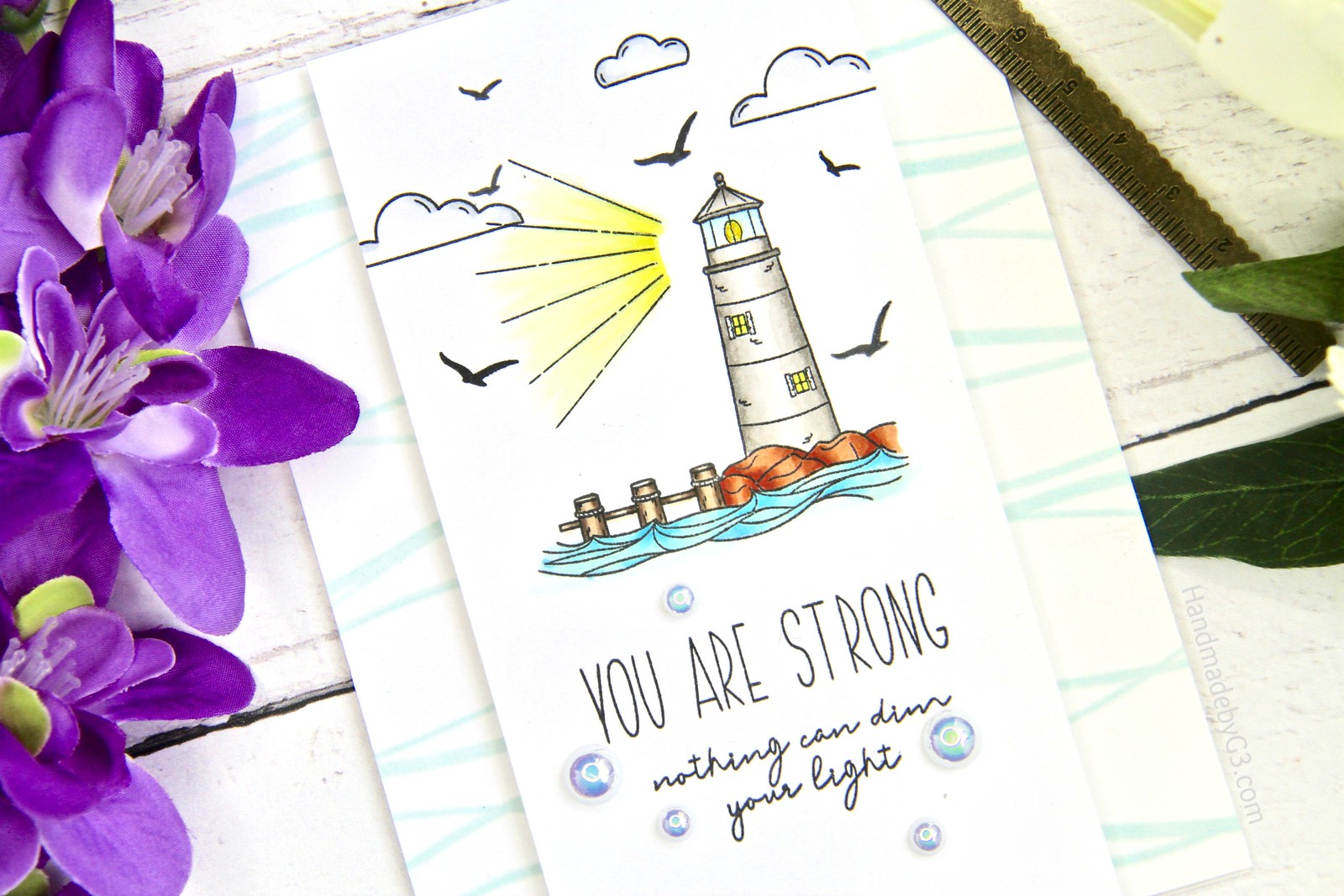 SSS You are Strong card closeup
