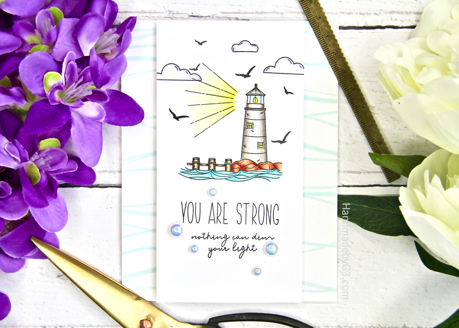 SSS You are Strong card