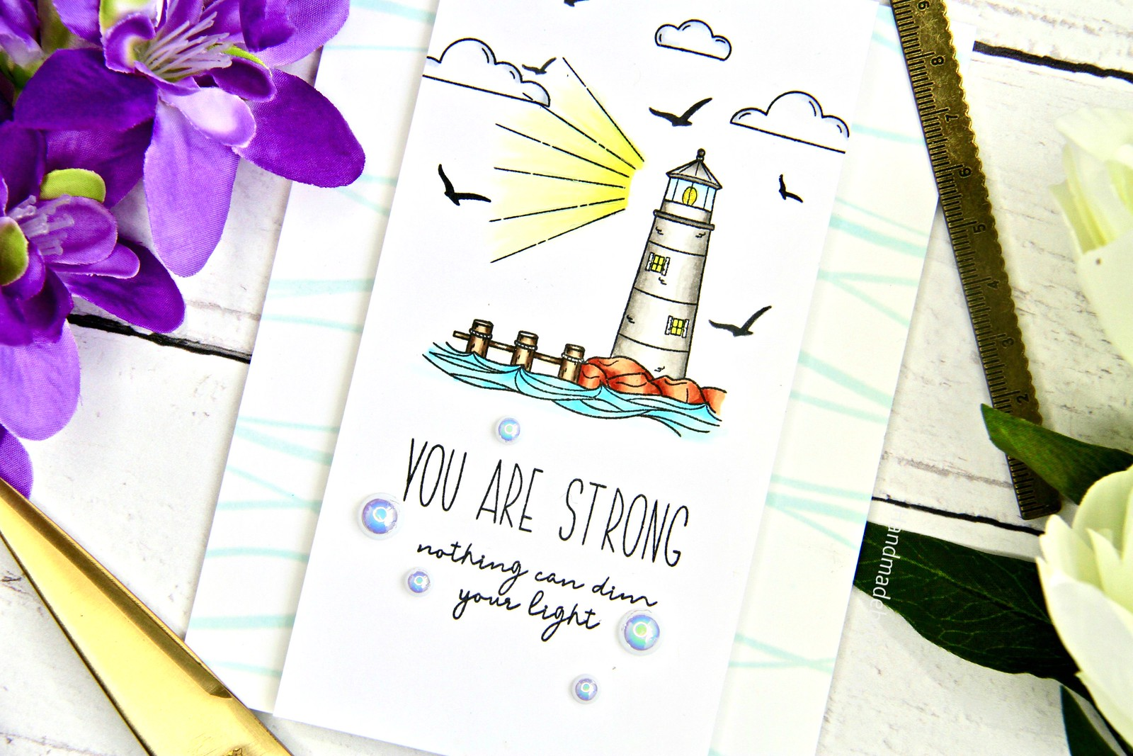 SSS You are Strong card closeup1