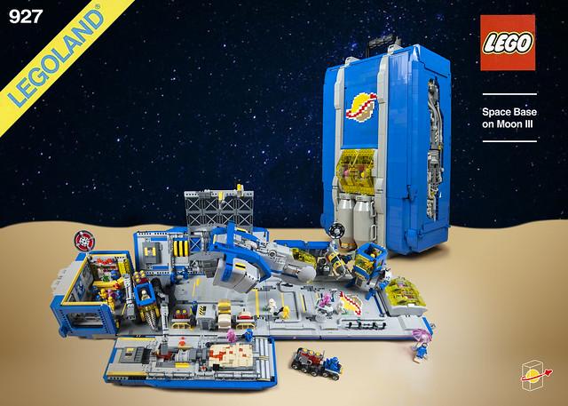 LEGO Classic Space Moon Base