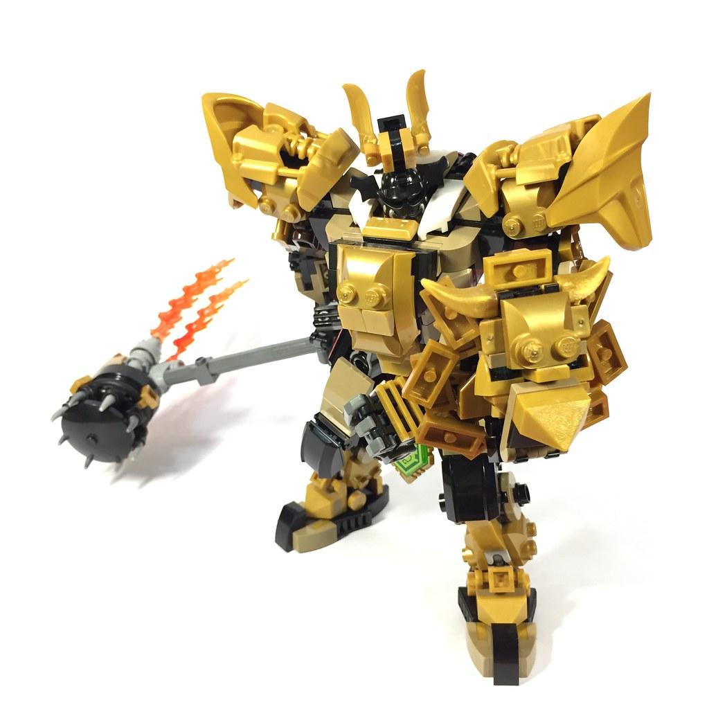 Overwatch Balderich (custom built Lego model)