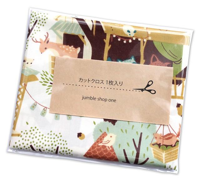 カットクロス Birch Fabrics Best of Teagan White Tree Fort