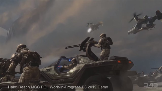 Halo Reach MCC PC - E3 2019 Demo