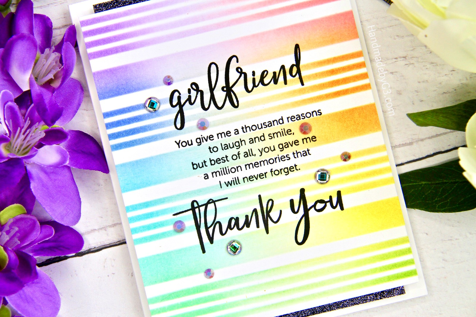 SSS Girlfriend card closeup