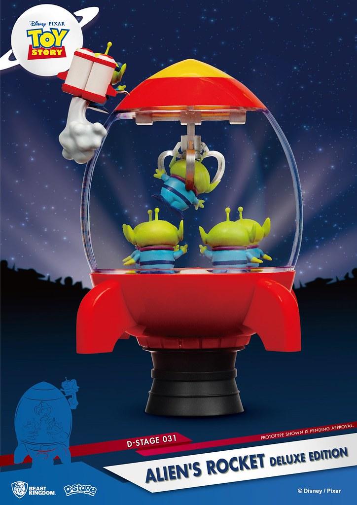 The Claw~~~ 野獸國 夢-精選 系列《玩具總動員》三眼怪火箭豪華版 Alien's Rocket Deluxe Edition D-Select-031