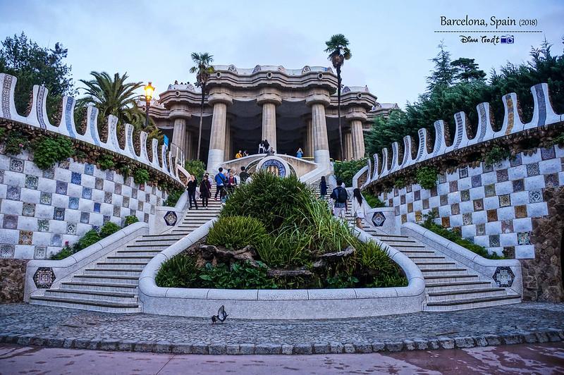 2018 Spain Barcelona Park Guell 03