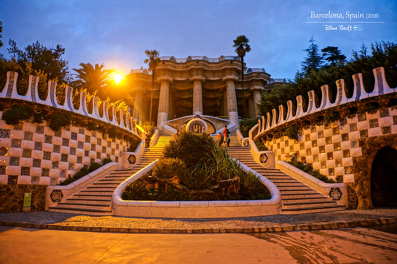 2018 Spain Barcelona Park Guell 02
