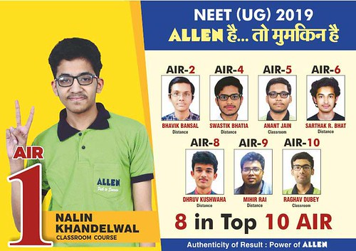 neet result 2019 nalin khandelwal topper neet preparation strategy