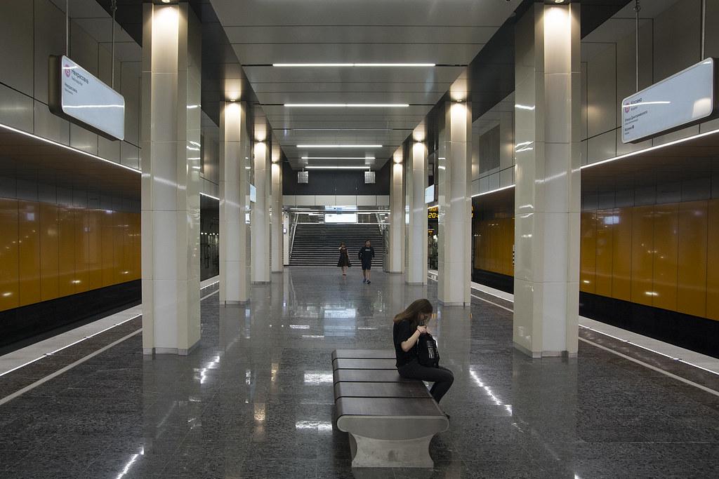 Lukhmanovskaya metro station