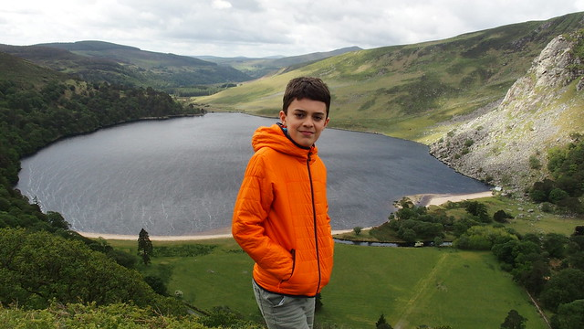 Eoin at Lough Tay