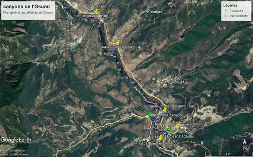 plan canyons osumi