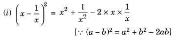 Algebraic Expressions and Identities NCERT Extra Questions for Class 8 Maths Q17.1
