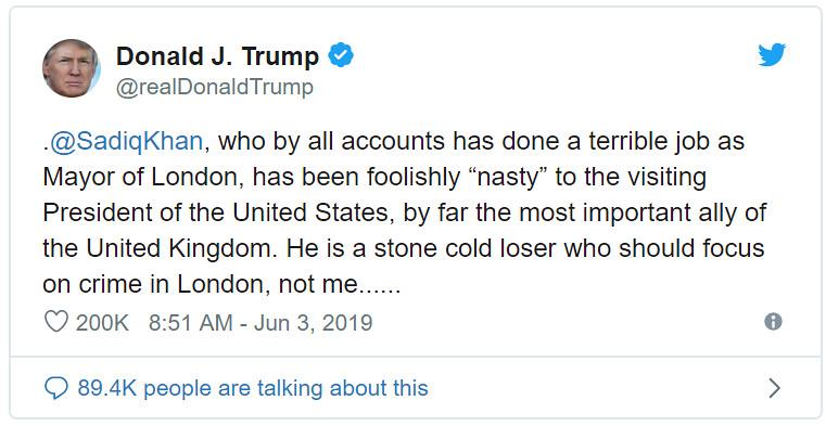 Trump - Khan
