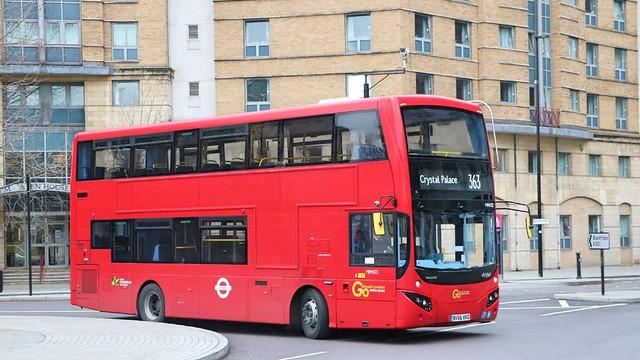 Go Ahead London Central - MHV22 - BV66VKO