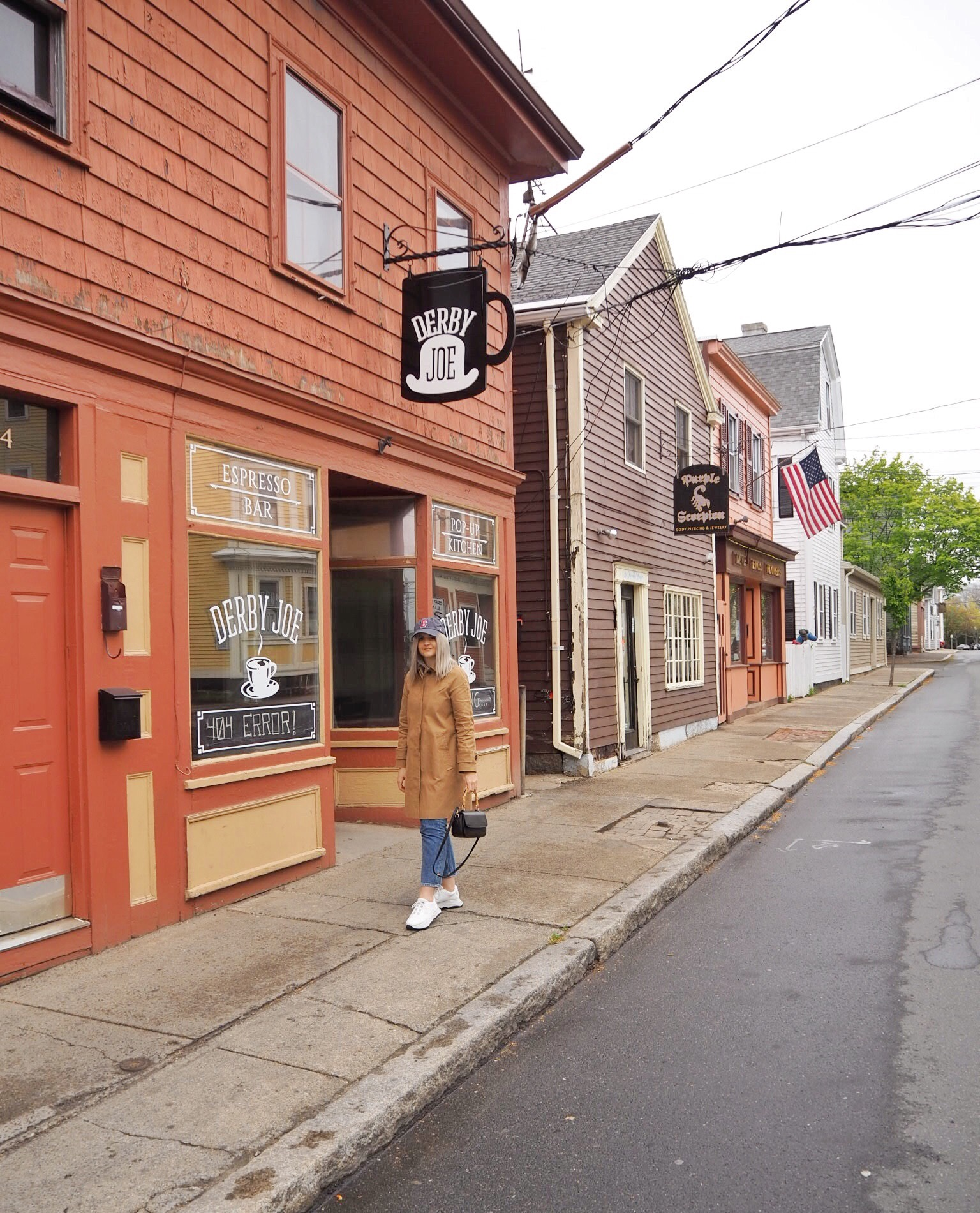 visiting boston and going to Salem