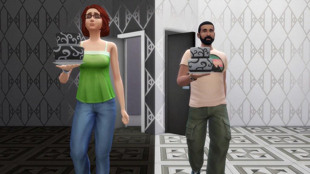 The Sims 4: Prévia de Portas em Cor Branca e Preta