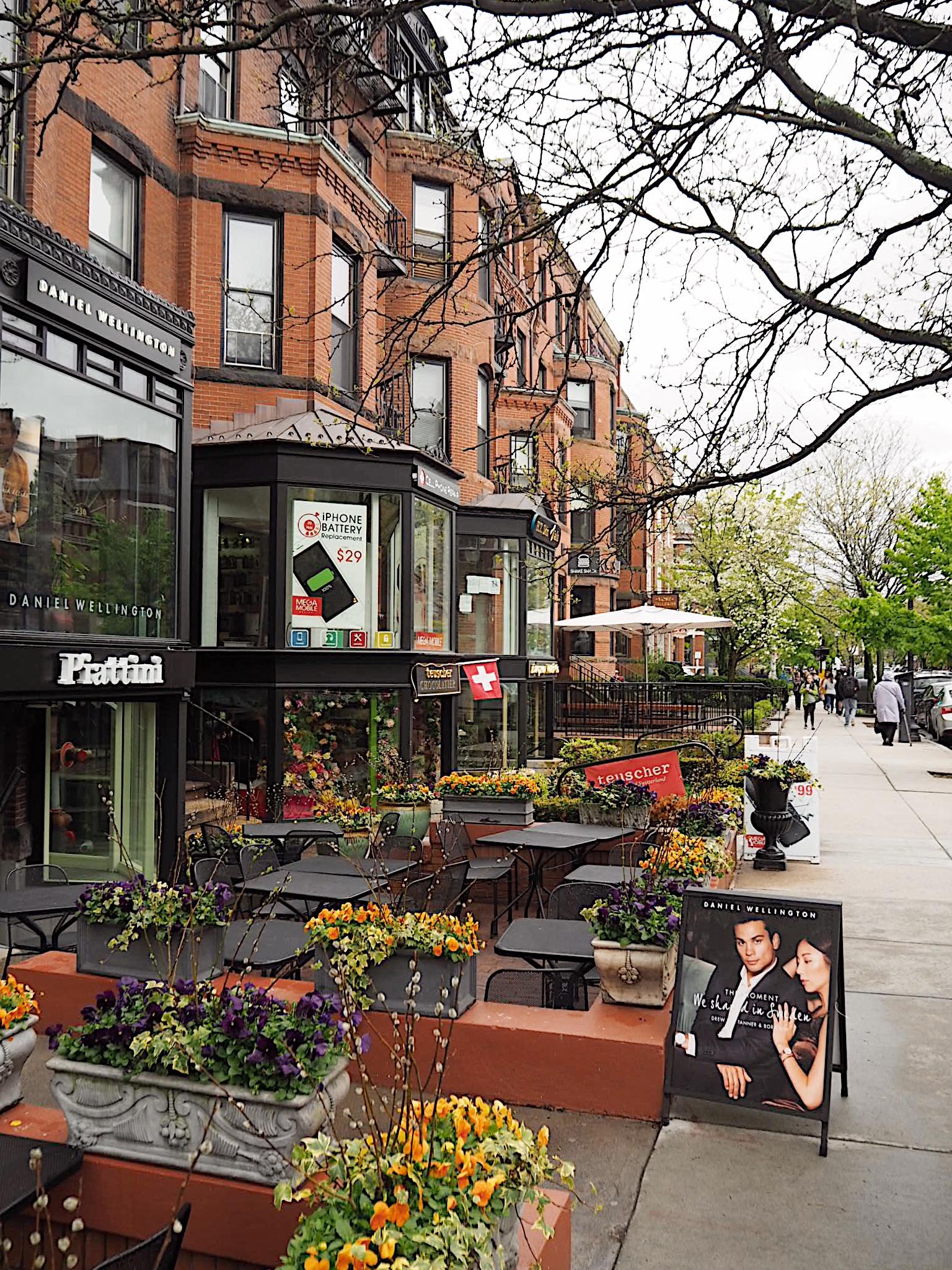 newbury street boston shops