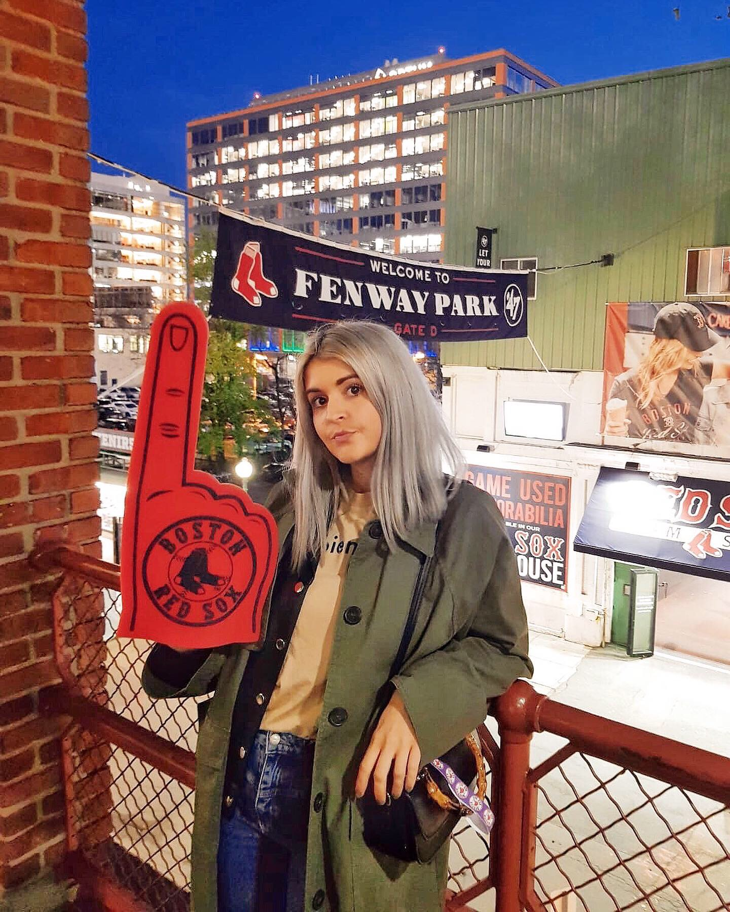 visiting fenway park on a weekend in boston