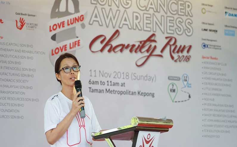Malaysian doctor is creating cancer awareness