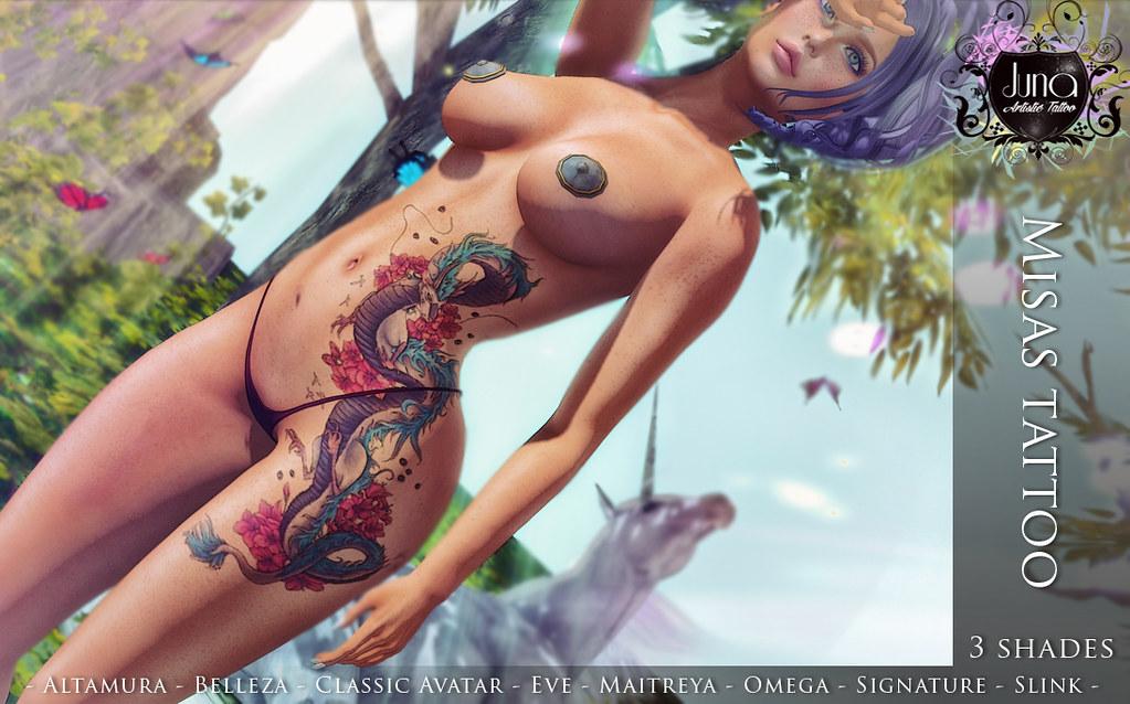 Misas tattoo - TeleportHub.com Live!