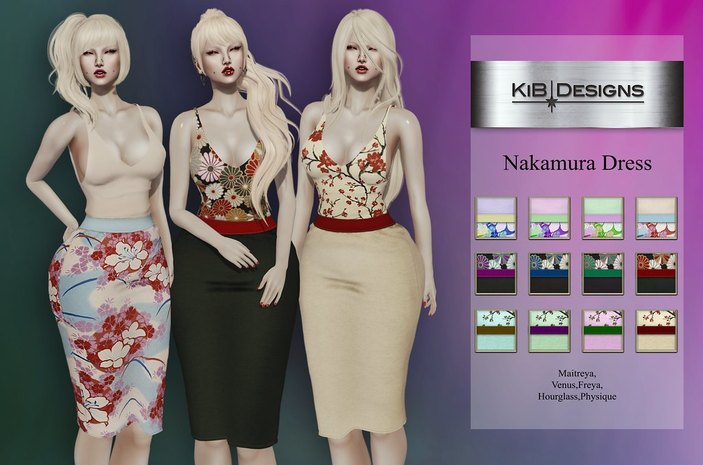 KiB Designs – Nakamura Dress @On9 Event