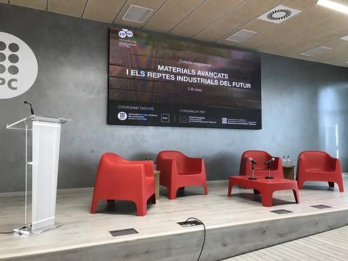 Trobada Empresarial: Materials avançats i els reptes industrials del futur / Encuentro Empresarial: Materiales avanzados y los retos industriales del futuro