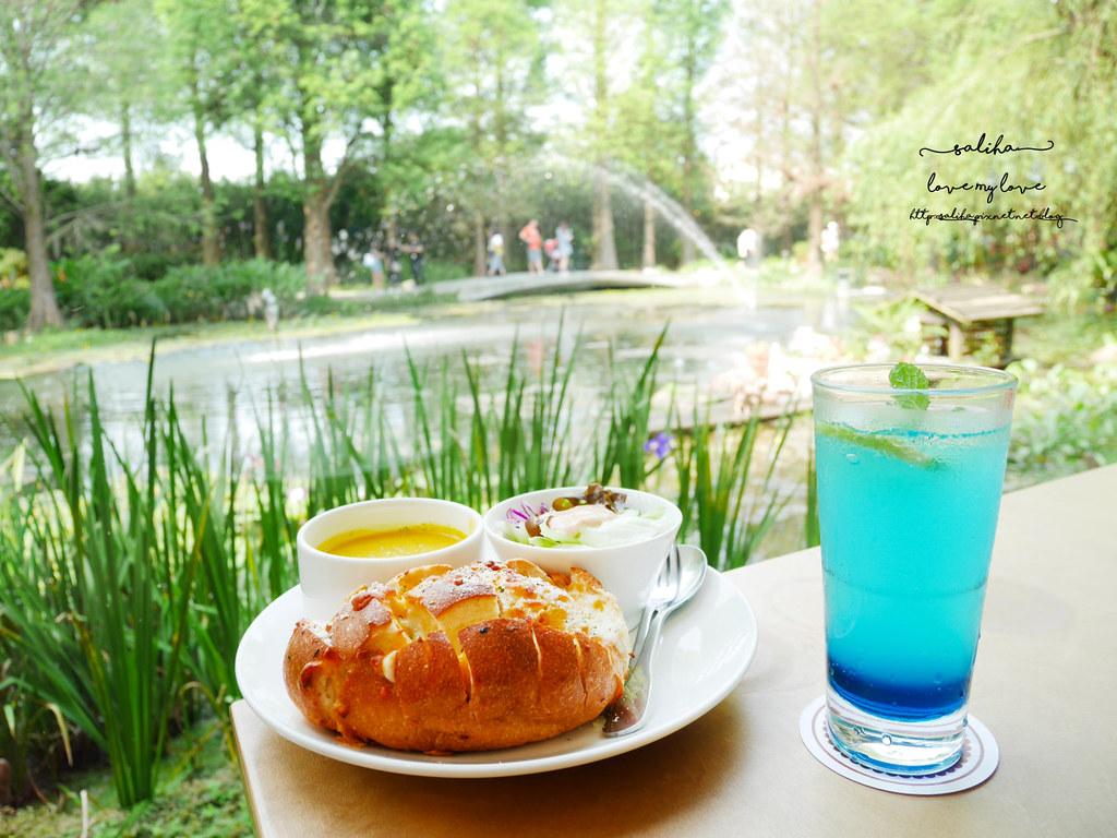 彰化田尾一日遊景點菁芳園下午茶咖啡餐點推薦 (1)