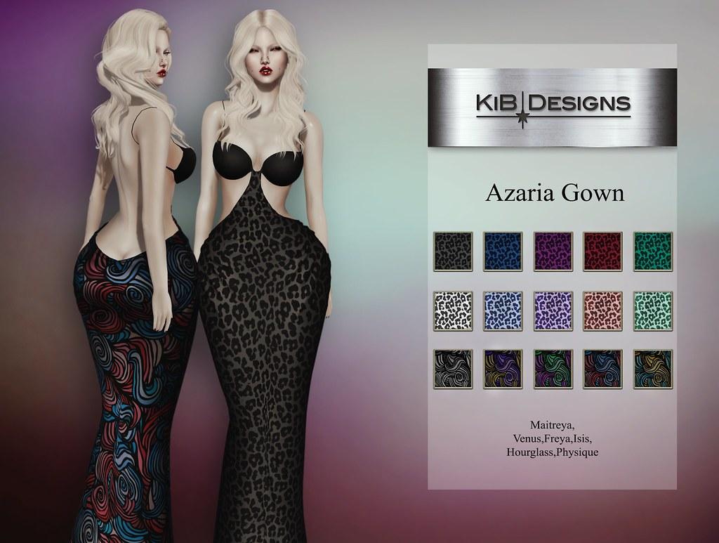 KiB Designs – Azaria Gown @AnyBody Event