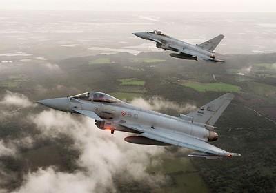 caccia eurofighter 36° Stormo