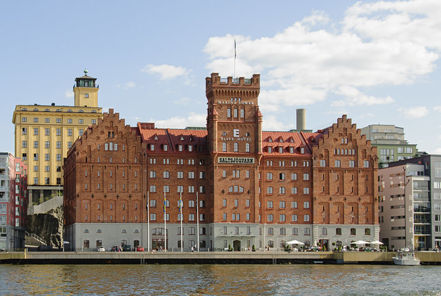 A fine old waterfront hotel in Stockholm