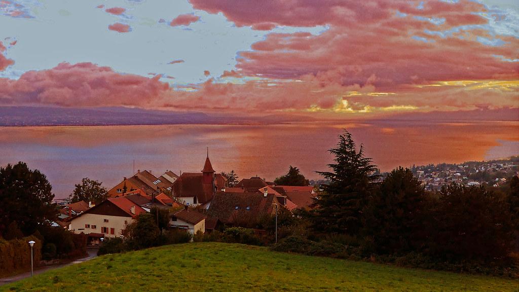 SWITZERLAND - Belmont and Leman lake