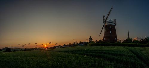 church england johnwebbwindmill johnwebbswindmill landscape places sunset thaxted uk uttlesford windmill