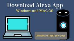 Download Alexa app for windows (7,10)   +1855-557-7055