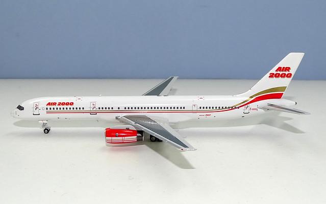 Air 2000 Boeing 757-28A G-OOOA