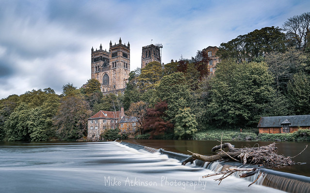 Durham Cathedral On A Cloudy May Day (Cold Light).