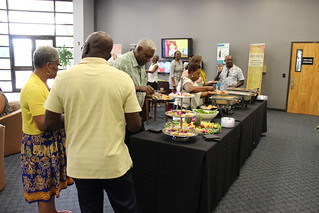 Tue, 2019-05-28 06:28 - Attendees enjoy the first screener event for 'Beyond Barbados: The Carolina Connection' in Columbia, S.C. on June 3, 2019.