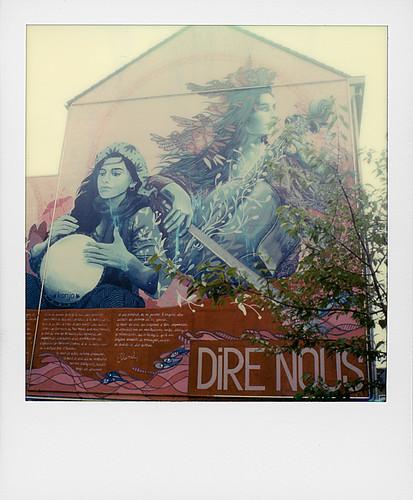 """Fresques """"Dire Nous"""" ... (Verviers, Belgique)"""