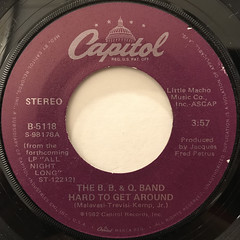 THE B. B. & Q. BAND:IMAGINATION(LABEL SIDE-B)