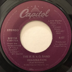 THE B. B. & Q. BAND:IMAGINATION(LABEL SIDE-A)