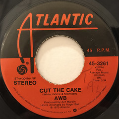 AWB:CUT THE CAKE(LABEL SIDE-A)