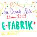 Les dessins de la Grande Fête E-FABRIK' 2019 par Sophia Zandotti
