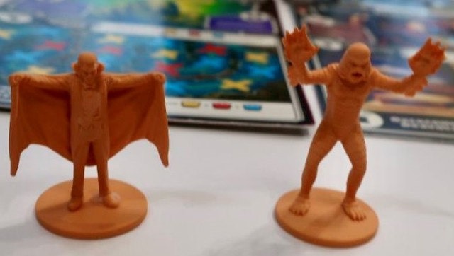 Best Cooperative Board Games Horrified Minis