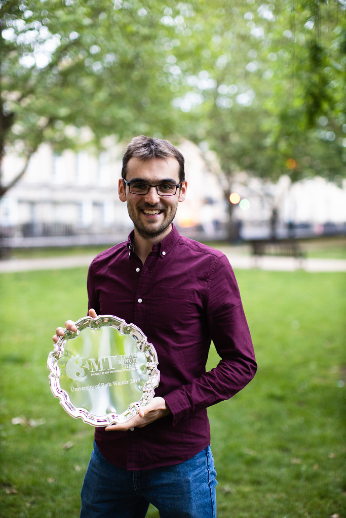 Rob Edinburgh, Dept for Health, University of Bath 3MT Winner 2019
