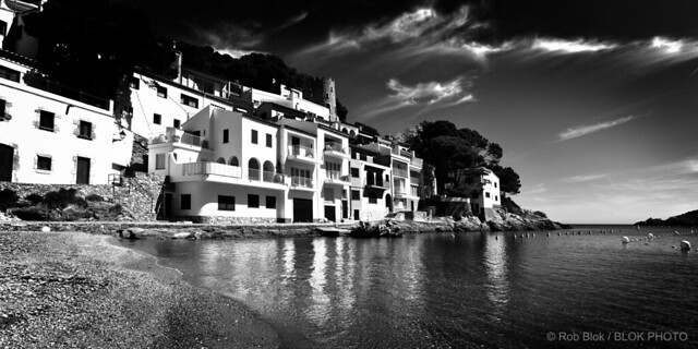 Sea Village-BP82971bw-panorama2