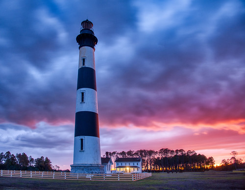 Lighthouse in a Mysterious Place
